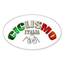 Italy Cycling Decal