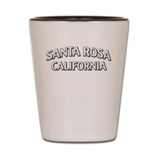 Santa Rosa California Shot Glass