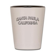 Santa Paula California Shot Glass