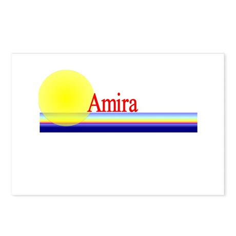 Amira Postcards (Package of 8)