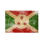Burundi Flag Rectangle Magnet (100 pack)