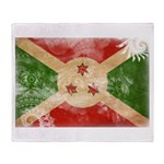 Burundi Flag Throw Blanket