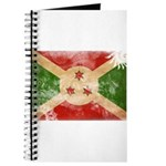 Burundi Flag Journal
