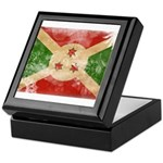 Burundi Flag Keepsake Box
