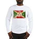 Burundi Flag Long Sleeve T-Shirt