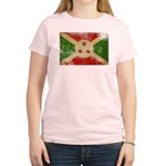 Burundi Flag Women's Light T-Shirt