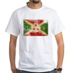 Burundi Flag White T-Shirt