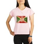 Burundi Flag Performance Dry T-Shirt