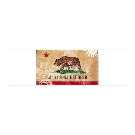 California Flag 21x7 Wall Peel