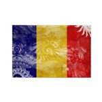 Chad Flag Rectangle Magnet