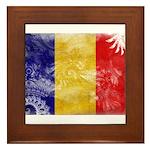 Chad Flag Framed Tile