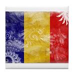 Chad Flag Tile Coaster