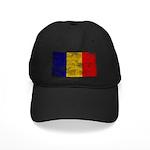 Chad Flag Black Cap