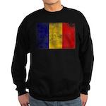 Chad Flag Sweatshirt (dark)