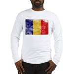 Chad Flag Long Sleeve T-Shirt