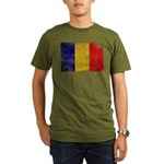 Chad Flag Organic Men's T-Shirt (dark)