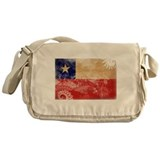 Chile Flag Messenger Bag