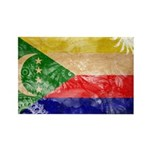 Comoros Flag Rectangle Magnet