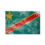 Congo Flag Rectangle Magnet (100 pack)