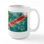 Congo Flag Large Mug