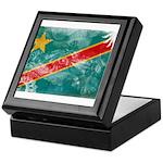 Congo Flag Keepsake Box
