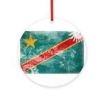 Congo Flag Ornament (Round)