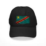 Congo Flag Black Cap