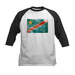 Congo Flag Kids Baseball Jersey