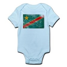 Congo Flag Infant Bodysuit