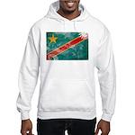 Congo Flag Hooded Sweatshirt