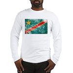 Congo Flag Long Sleeve T-Shirt