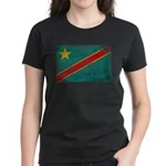 Congo Flag Women's Dark T-Shirt
