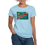 Congo Flag Women's Light T-Shirt