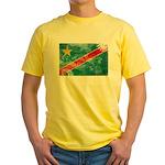 Congo Flag Yellow T-Shirt