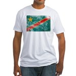 Congo Flag Fitted T-Shirt