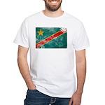 Congo Flag White T-Shirt