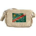 Congo Flag Messenger Bag