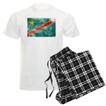 Congo Flag Men's Light Pajamas