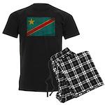 Congo Flag Men's Dark Pajamas