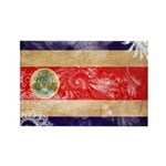 Costa Rica Flag Rectangle Magnet (100 pack)