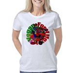 Costa Rica Flag Women's Raglan Hoodie
