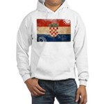 Croatia Flag Hooded Sweatshirt