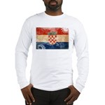 Croatia Flag Long Sleeve T-Shirt