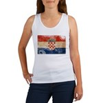 Croatia Flag Women's Tank Top