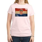 Croatia Flag Women's Light T-Shirt