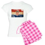 Croatia Flag Women's Light Pajamas