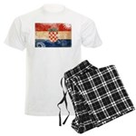 Croatia Flag Men's Light Pajamas