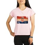Croatia Flag Performance Dry T-Shirt