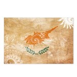 Cyprus Flag Postcards (Package of 8)