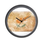 Cyprus Flag Wall Clock